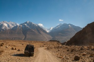 'Roof of the world' - The Pamir Mountains